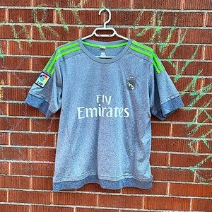 NWOT Fly Emirates Real Madrid Jersey adidas LFP